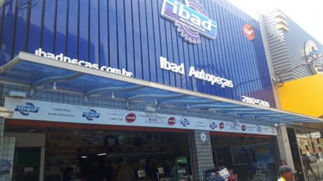 fachada da loja Ibad em Nova Iguaçu