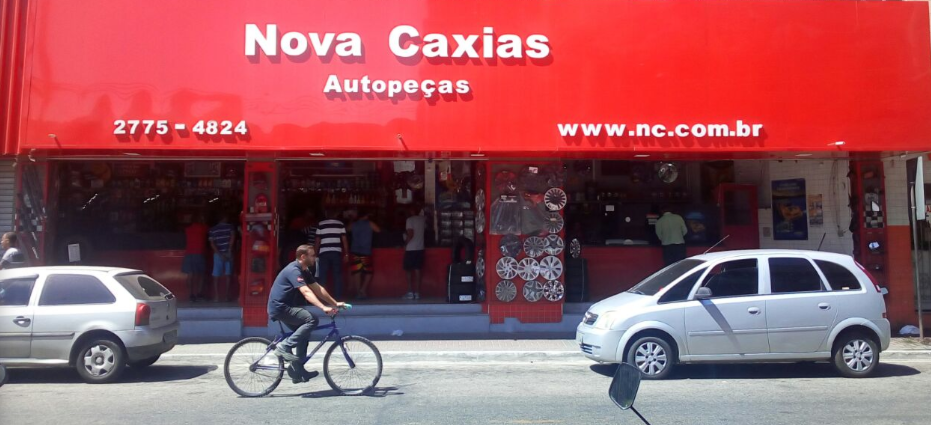 Fachada da Loja Nova Caxias